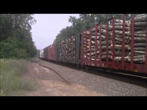 Trains of The Fox River/Neenah Subs Amherst Junction to Stevens Point Part 1