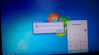 Mój wirus w akcji na Windows 7 - BARDZO CIEKAWA REAKCJA