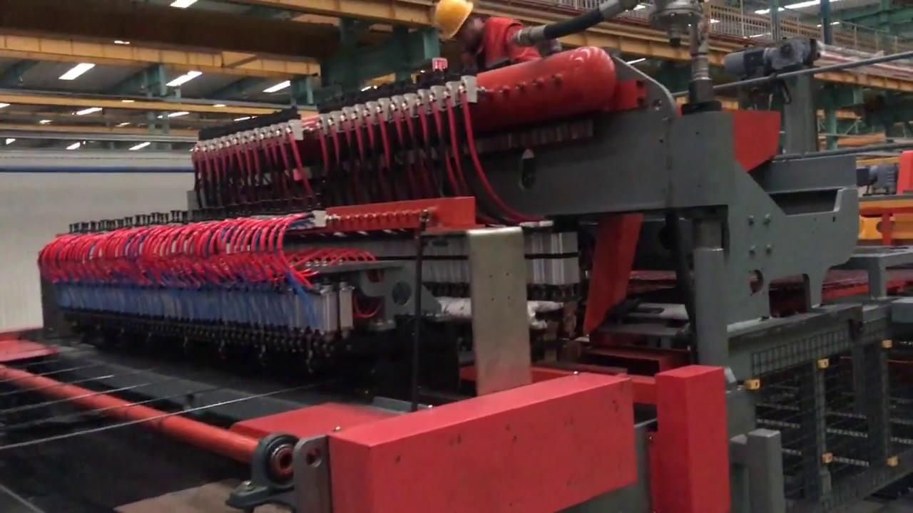 Wire mesh welding machine-BRC mesh-construction mesh-5-12mm-bar+coil