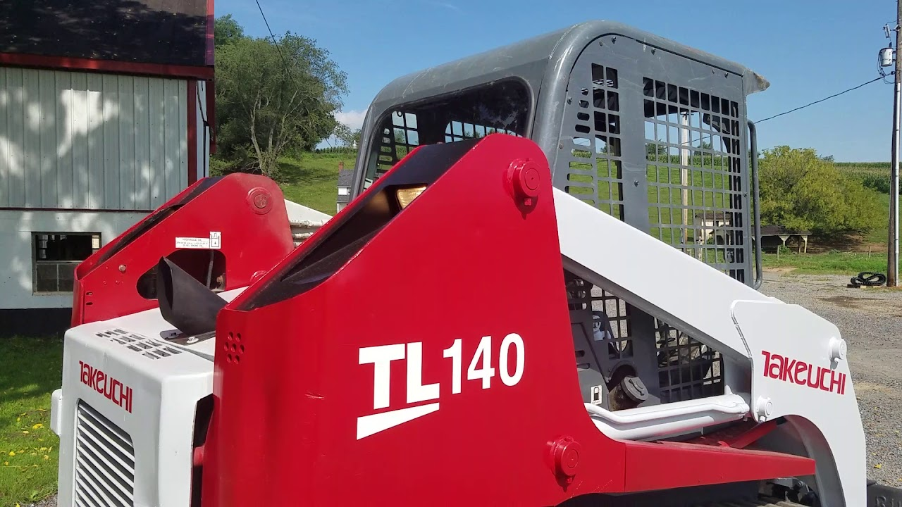 2006 Takeuchi TL140 Compact Tracked Skid Steer Loader For Sale Walk-Around  Inspection Video