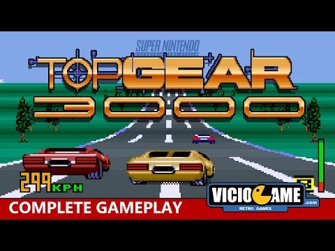🎮 Top Gear 3000 (SNES) Complete Gameplay
