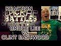 ERB Bruce Lee vs Clint Eastwood Epic Rap Battles REACTION