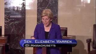Senator Elizabeth Warren: Floor speech on 21st Century Cures Act