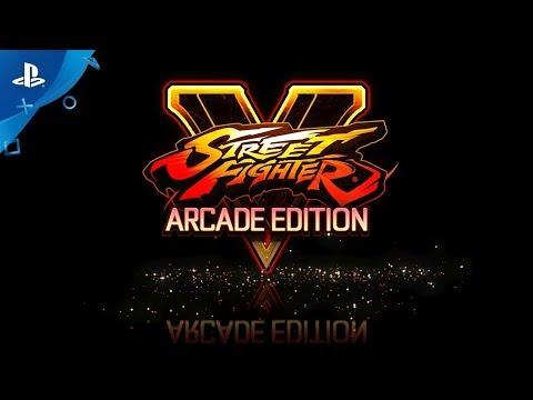Street Fighter V: Arcade Edition – Reveal Trailer | PS4