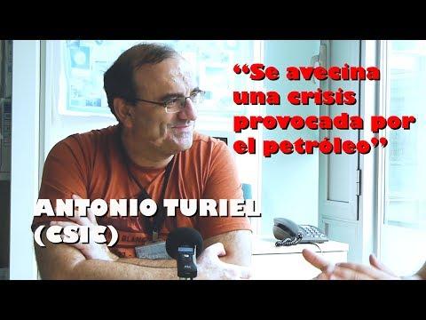 ENTREVISTA A ANTONIO TURIEL: Petróleo, crisis, energías y movilidad eléctrica