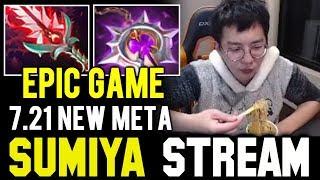 SUMIYA 7.21 New Meta Invoker | Sumiya Facecam Stream Moment #530