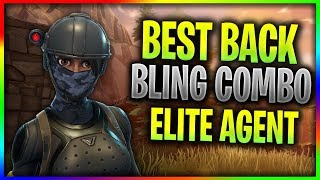 Best Back Bling Combo With Elite Agent In Fortnite: Battle Royale