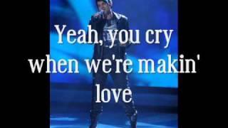 Скачать Adam Lambert Cryin Studio Version