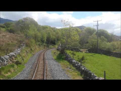 (OLD VERSION) Welsh Highland Railway - Porthmadog to Caernarfon rear view