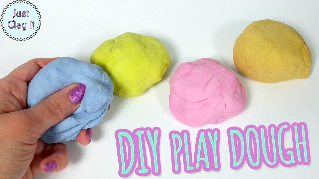 play doh lera recept