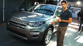 Land Rover Discovery Sport al Salone di Parigi 2014