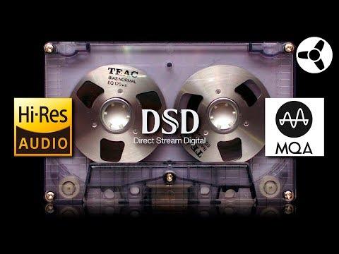 High-Resolution Audio MQA DSD Cassettes!?