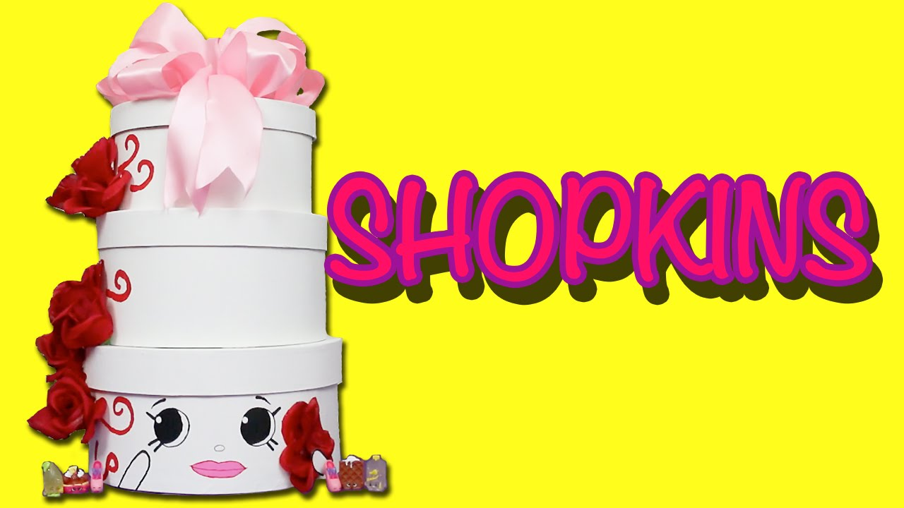 Shopkins Wendy Wedding Cake