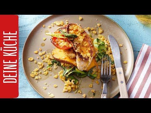 h hnchenbrust mit s kartoffeln und zucchini salat