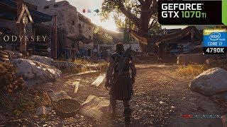 Assassin's Creed Odyssey - GTX 1070 Ti & i7 4790K | PC Max Settings 1080p
