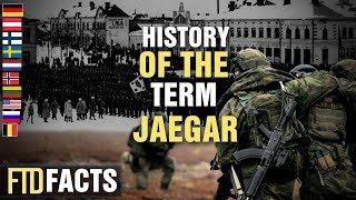 Why are Finnish, Norwegian, Swedish and Dutch Soldiers called Jaegars?