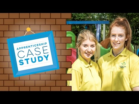 childcare case study If you're interested in childcare apprenticeships then read our childcare apprenticeship case study with chantryland nursery in sheffield.