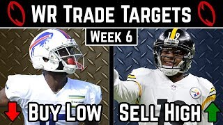 Wide Receiver Trade Targets - Week 6 - 2019 Fantasy Football Advice