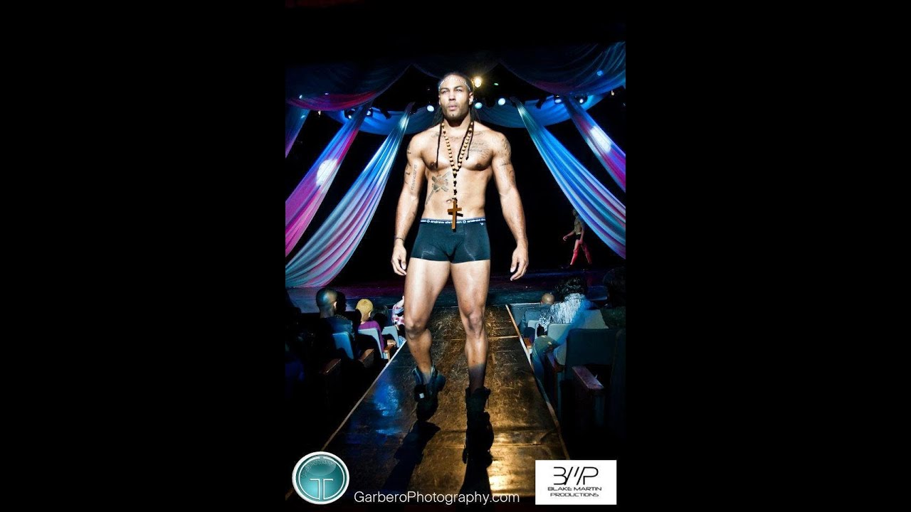 Erotic male fashon shows