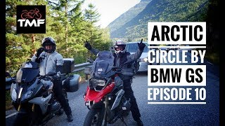 The Arctic Circle by BMW R1200GS - Episode 10 - On to Bergen and the Telemark Region