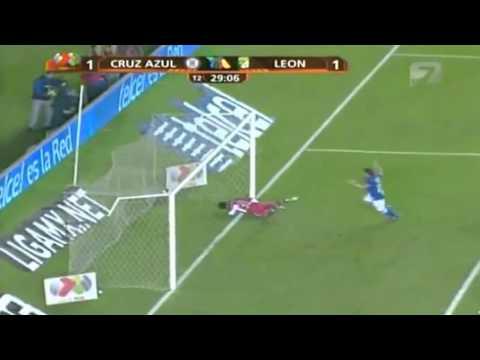 Increíble primer gol Pablo Barrera con Cruz Azul vs. León (1-1) -Tiro Libre Directo-