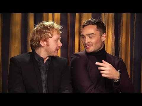 Ed Westwick and Rupert Grint ting Snatch on Extra HD