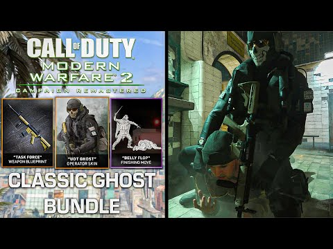 Modern Warfare 2 Remastered Classic Ghost Bundle New Executions