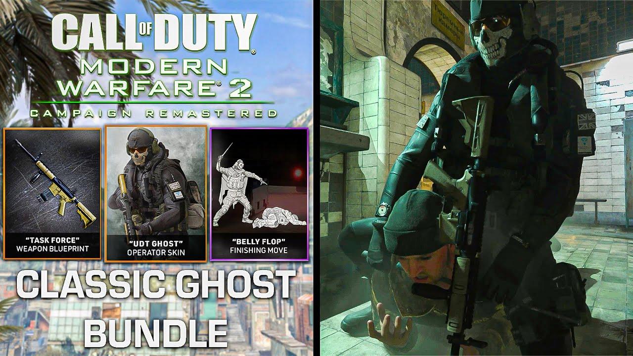 Modern Warfare Warzone Contingency Pack Ghost Bundle Update