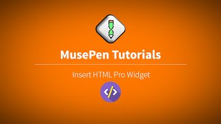 MusePen.com : How to insert HTML codes in Adobe Muse