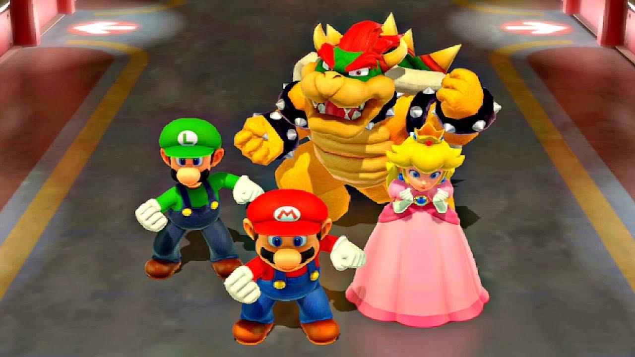Super Mario Party - Disco Dancing Mini-Game Gameplay