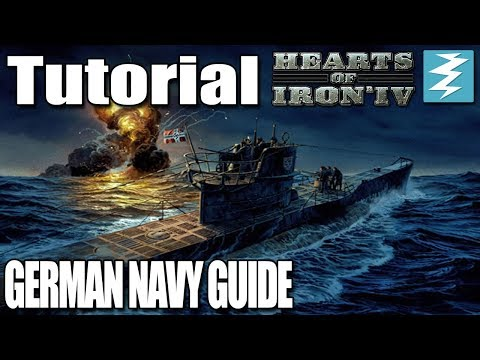 GERMAN NAVY GUIDE - DAY 4# - Hearts of Iron 4 (HOI4)