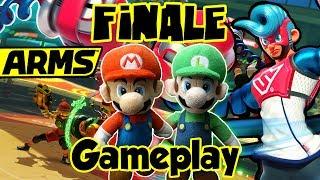 ABM: ARMS Global Testpunch FINALE!! * Mario Gangs* HD