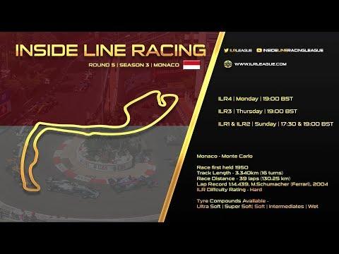 Inside Line Racing   Round 5 Monaco Grand Prix   ILR3