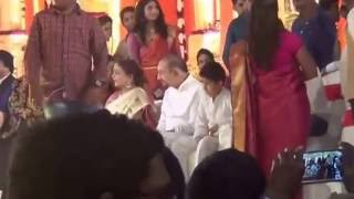 Mahesh Babu,Gowtham & Super Star Krishna in Mahesh Cousin Brother Marriage
