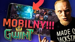 Gwint - Pełny gameplay wersji mobinej! Na androidzie!