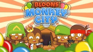ZAKŁADAM NOWĄ OSADĘ !!   #001   Bloons Monkey City   PL