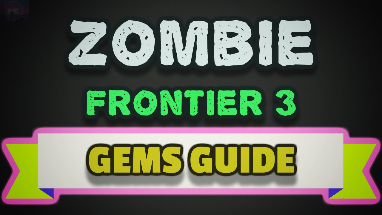 Zombie Frontier 3 Tips And Tricks To Get Free Gems Using Reward