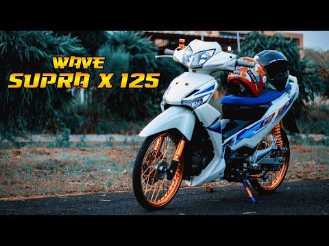 Wave Supra X 125 Honda Wave 125 Modifikasi Simpel Youtube