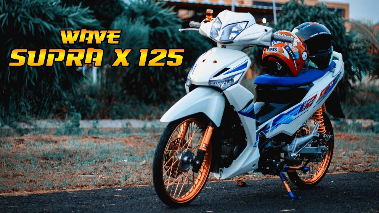 Wave Supra X 125 Honda Wave 125 Modifikasi Simpel