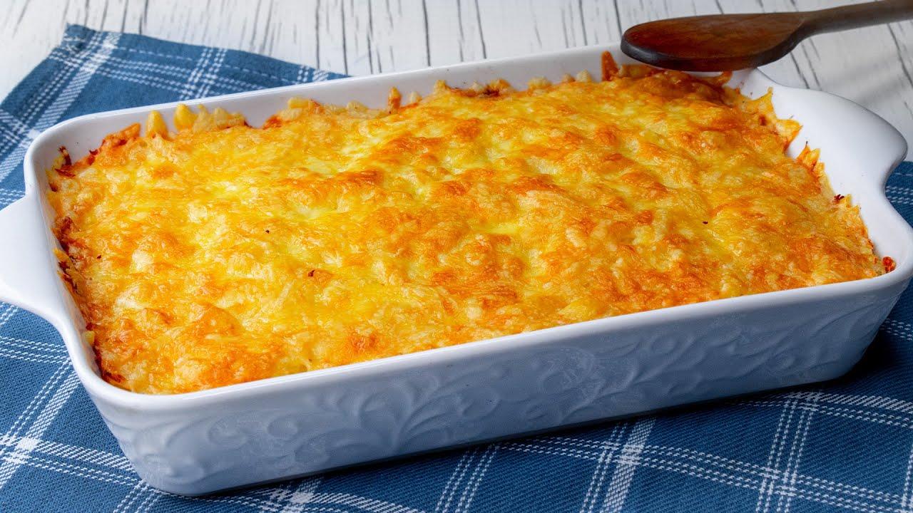 Zapiekanka z kurczakiem i grzybami gotowa w 20 minut. Znika pierwsza ze stołu!   Cookrate - Polska