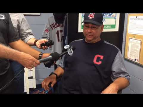 Terry Francona on Kluber, Bruce, Miller and Kipnis