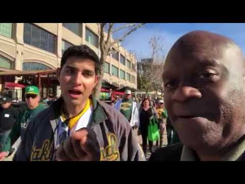 As Zennie62 Fan Talks At Oakland A's FanFest Day, Howard Terminal Stadium Haters Shout