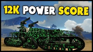 Crossout - 12K POWERSCORE! - Leviathan vs Leviathan - Let's Play Crossout Gameplay