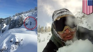 видео Что делать если попал в лавину
