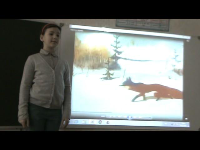 Изображение предпросмотра прочтения – АннаПлешкова читает произведение «Ворона и Лисица» И.А.Крылова