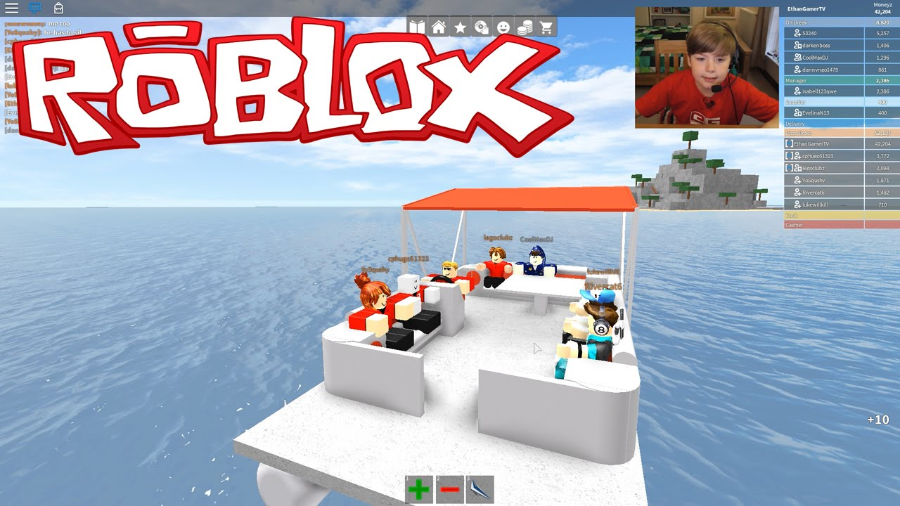 Work At A Pizza Place A Secret Island Roblox Kid Gaming Youtube