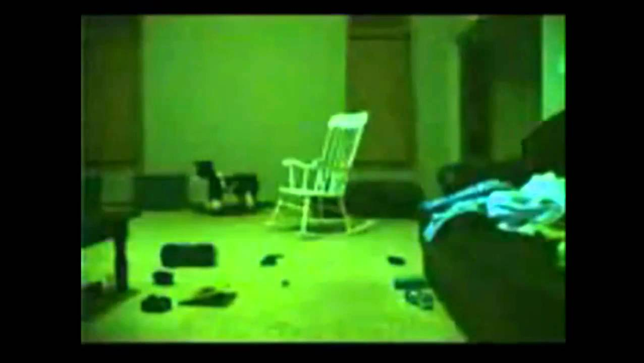 Ghostly Rocking Chair Paranormal Activity Youtube