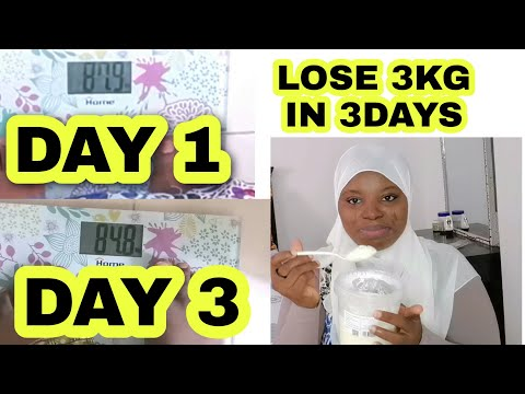 LOSE 3KGS IN 3DAYS|| YOGURT FASTING|| LOSE WEIGHT FAST