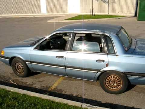 My New 1990 Mercury Topaz L