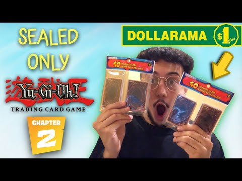 The Dollar Store SEALED-ONLY Yu-Gi-Oh! Challenge! ($1 Packs) | Episode 2